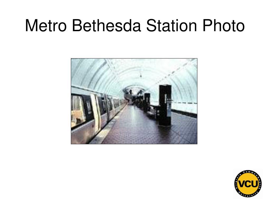 Metro Bethesda Station Photo