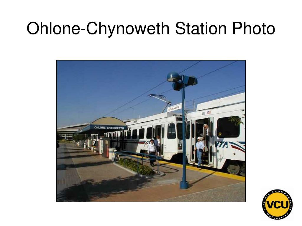 Ohlone-Chynoweth Station Photo
