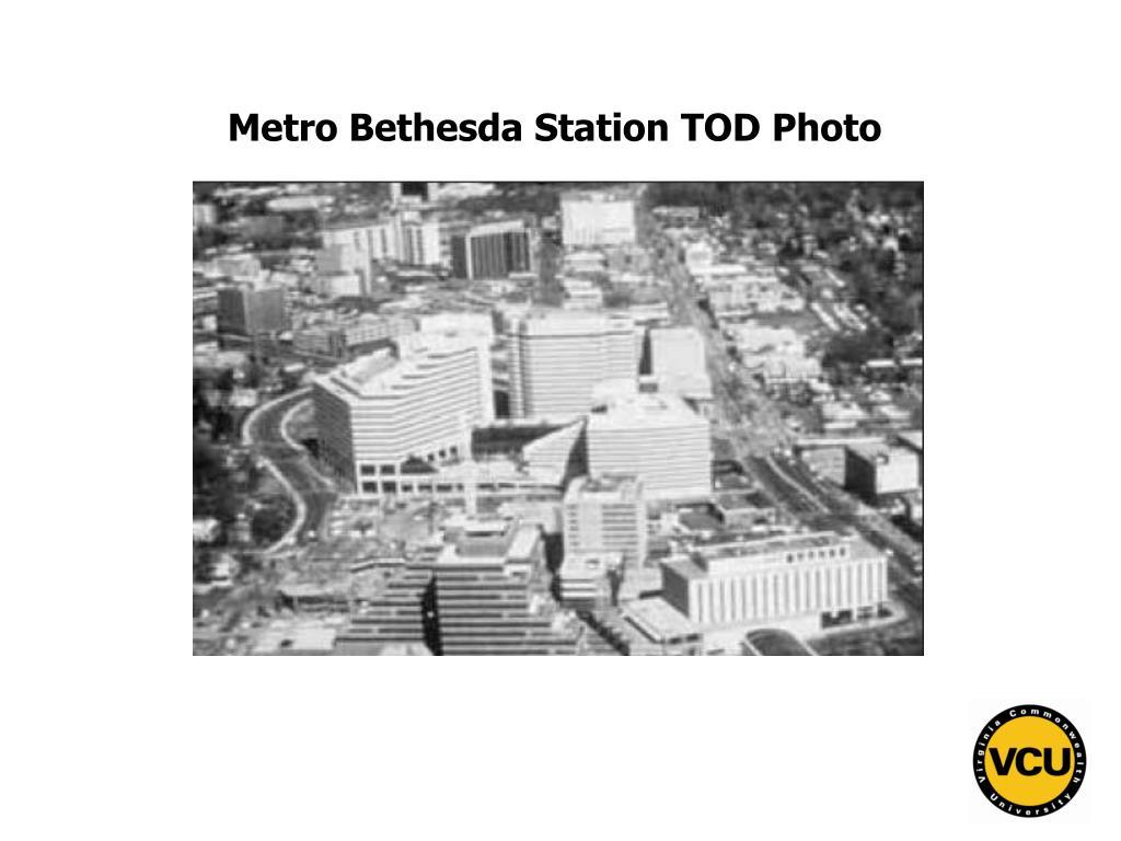 Metro Bethesda Station TOD Photo
