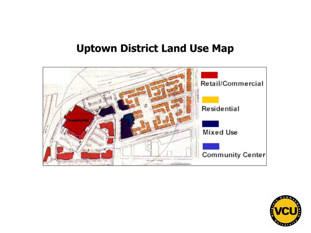 Uptown District Land Use Map