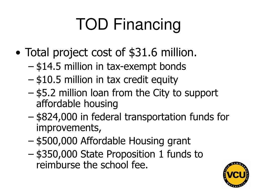 TOD Financing