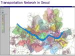 transportation network in seoul