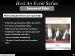 host an event series33