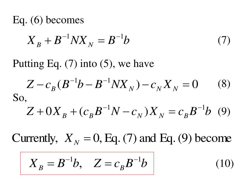 Eq. (6) becomes