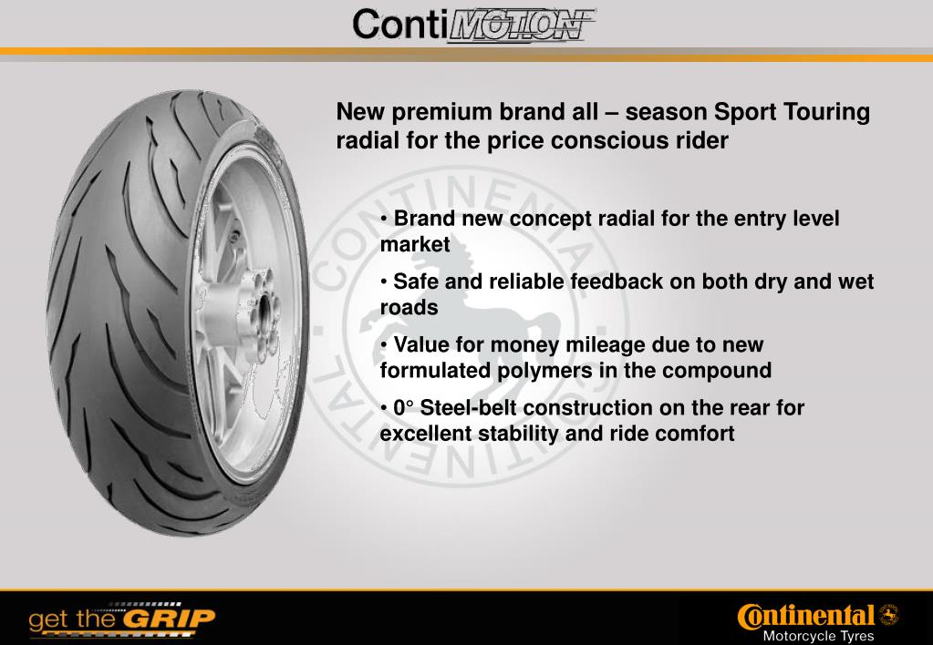 New premium brand all – season Sport Touring