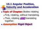 10 1 angular position velocity and acceleration