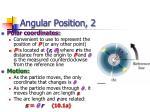 angular position 2