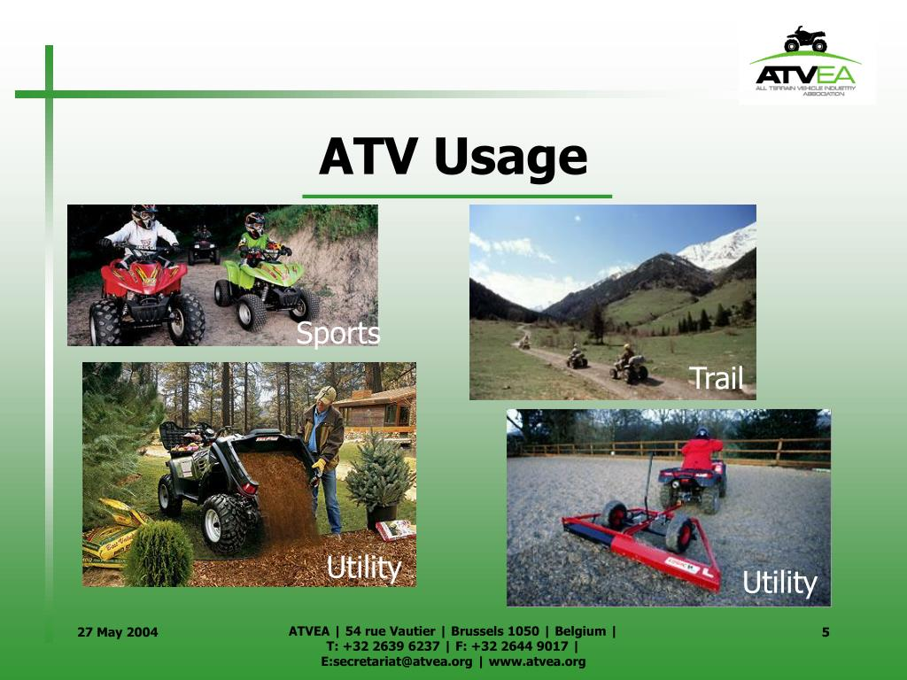 ATV Usage