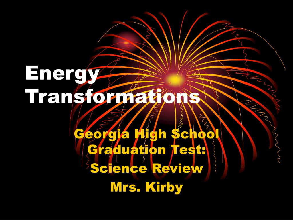energy transformations l.