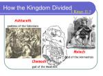 how the kingdom divided1