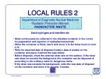local rules 2