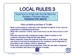 local rules 3