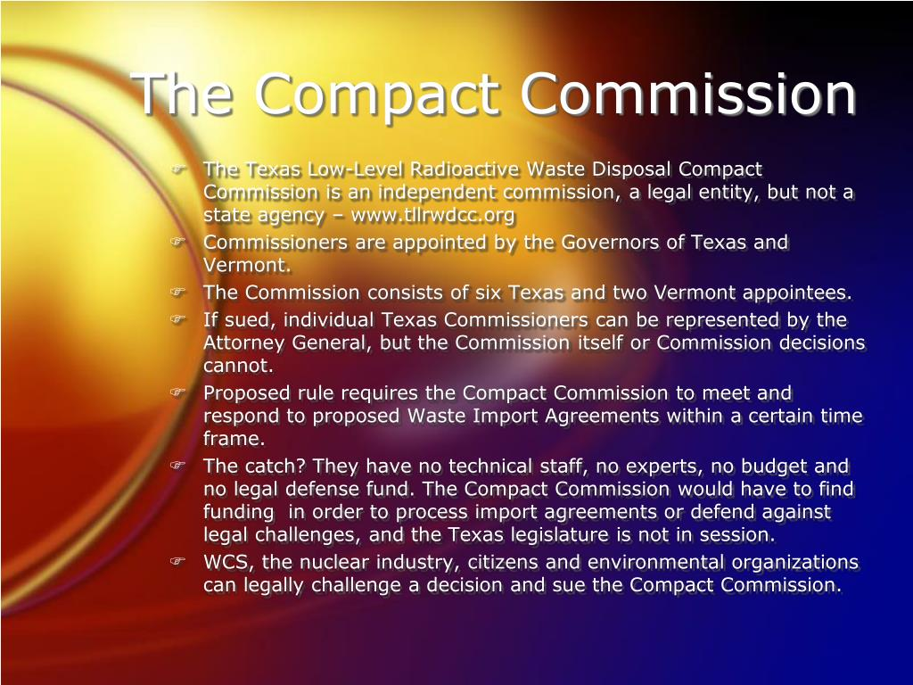 The Compact Commission