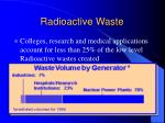 radioactive waste25