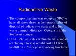 radioactive waste34