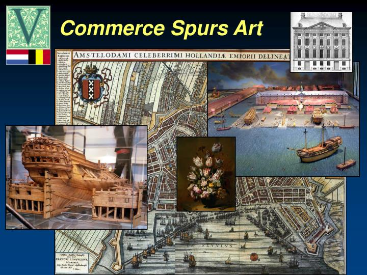 Commerce Spurs Art