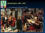 gerard david 1460 1523