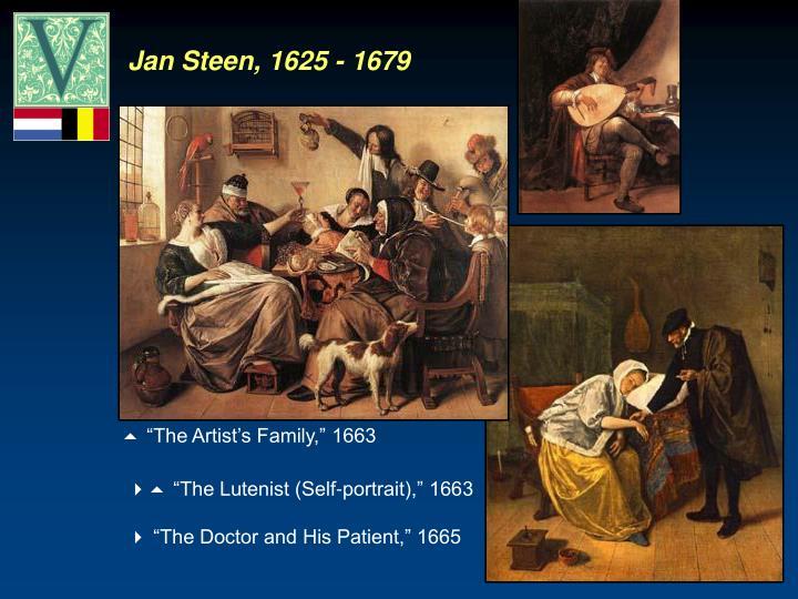 Jan Steen, 1625 - 1679