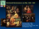 rembrandt harmenszoon van rijn 1606 1669