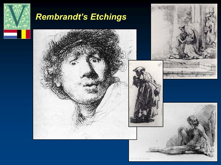 Rembrandt's Etchings