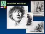 rembrandt s etchings