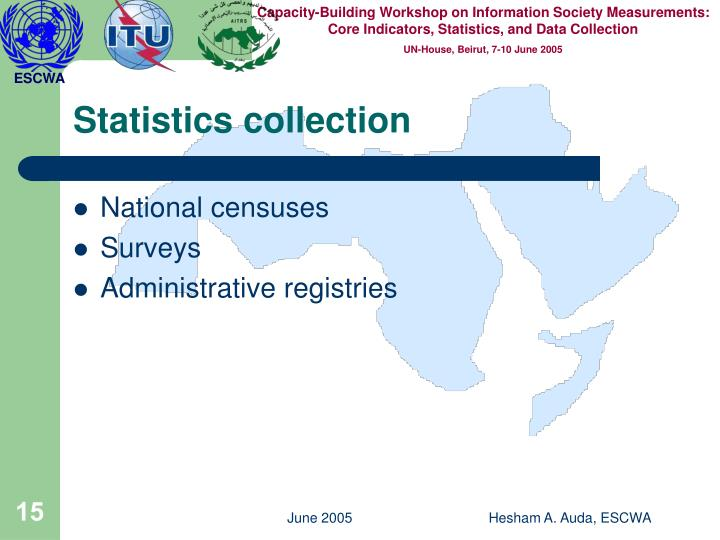 Statistics collection