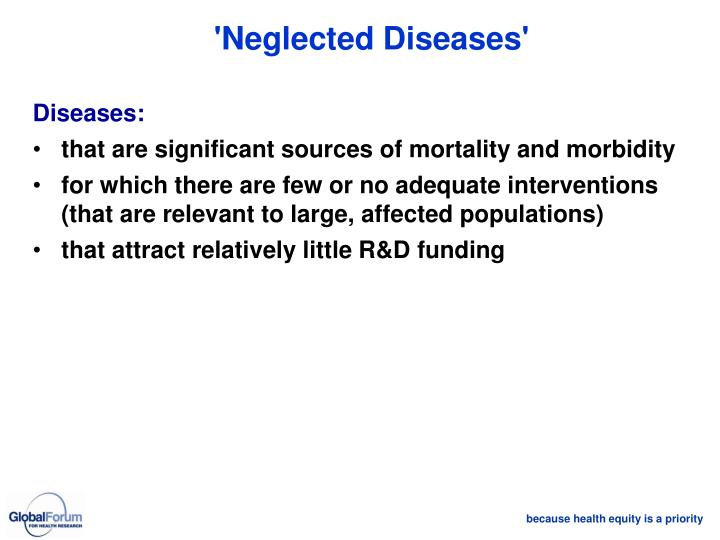 'Neglected Diseases'