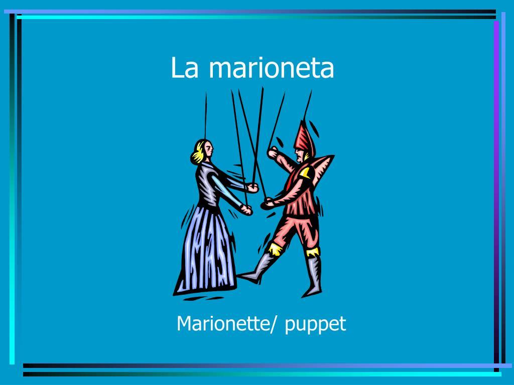 La marioneta
