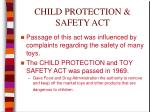 child protection safety act