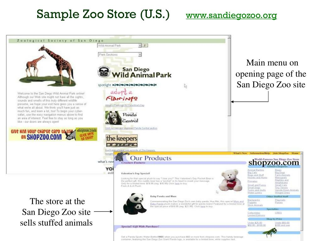 Sample Zoo Store (U.S.)