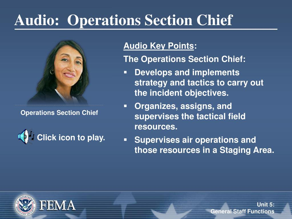 PPT - Unit 5: General Staff Functions PowerPoint ...