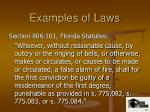 examples of laws5
