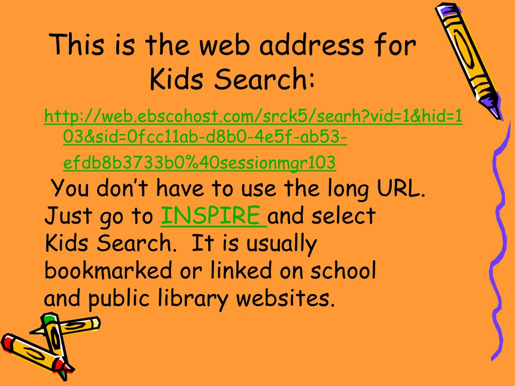 This is the web address for