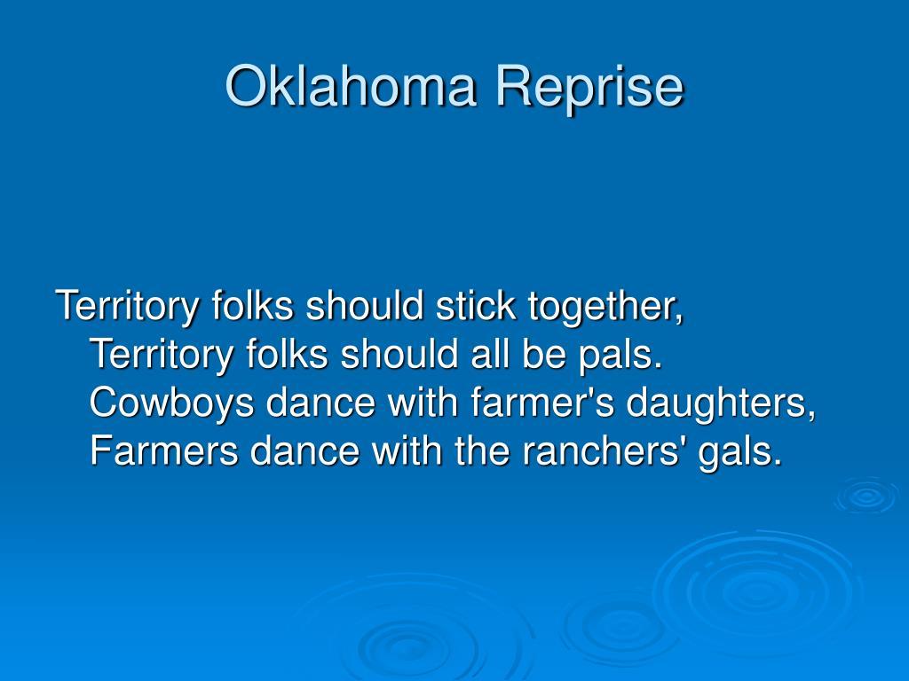 Oklahoma Reprise