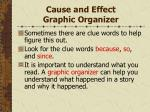 cause and effect graphic organizer49