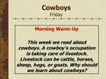cowboys friday