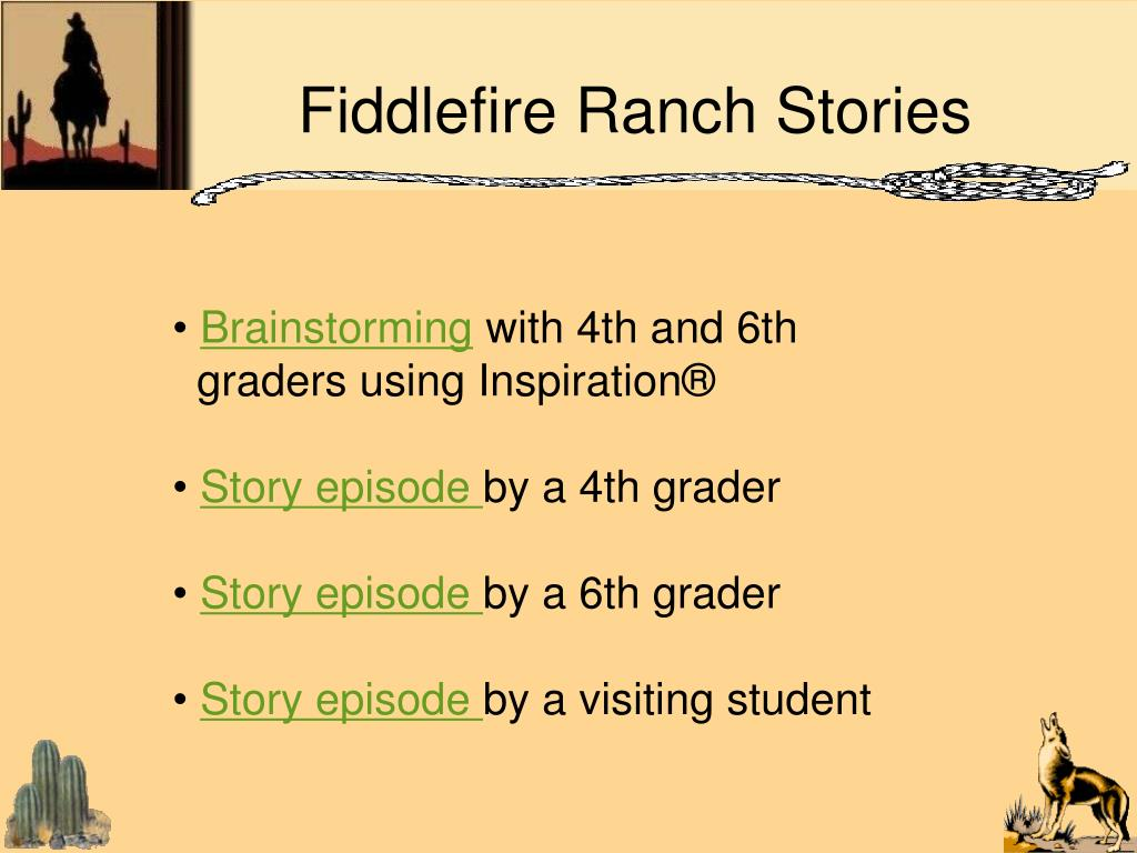 Fiddlefire Ranch Stories