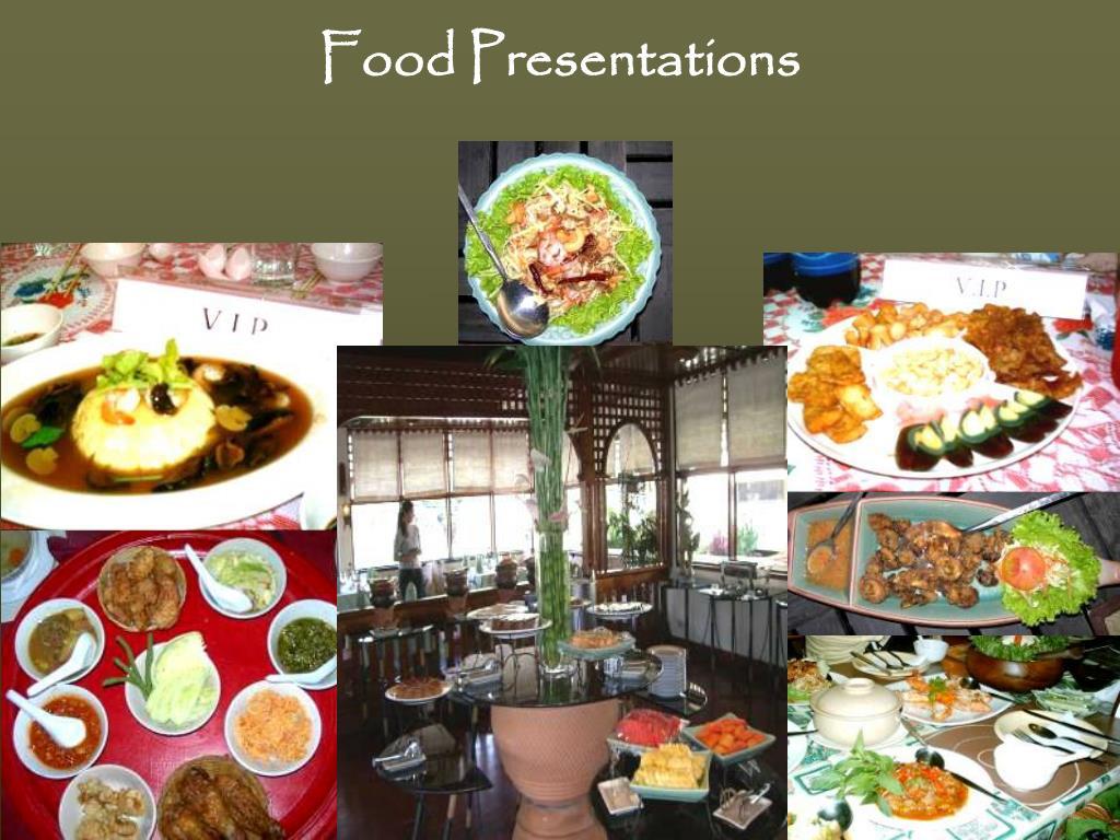 Food Presentations