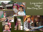 long necked village mae hong son