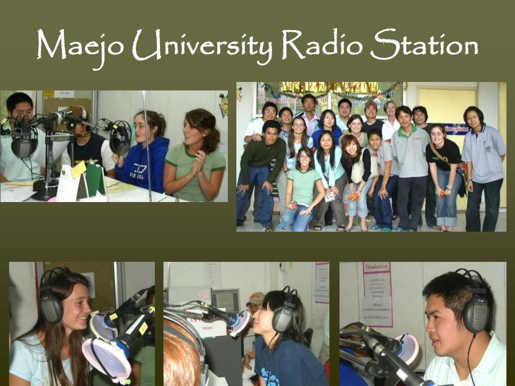 Maejo University Radio Station