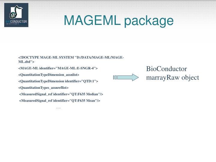 MAGEML package