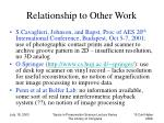 relationship to other work15