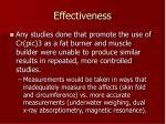 effectiveness6