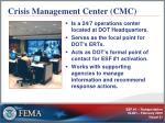 crisis management center cmc