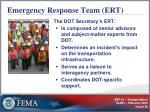 emergency response team ert