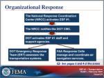organizational response