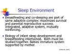 sleep environment62