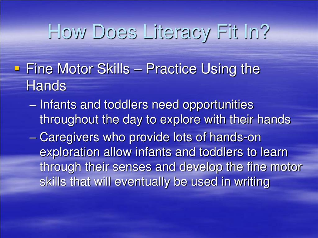 How Does Literacy Fit In?