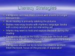 literacy strategies19
