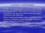 literacy strategies25
